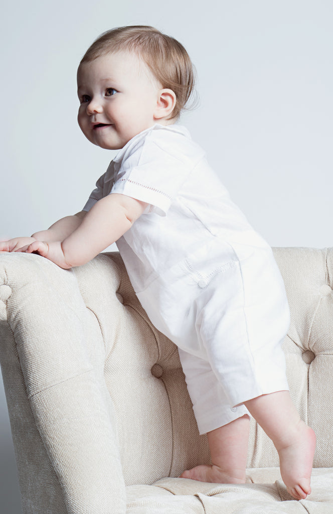 Baby Boy Formal Shortall - Summer Outfit, , Carriage Boutique, Imagewear