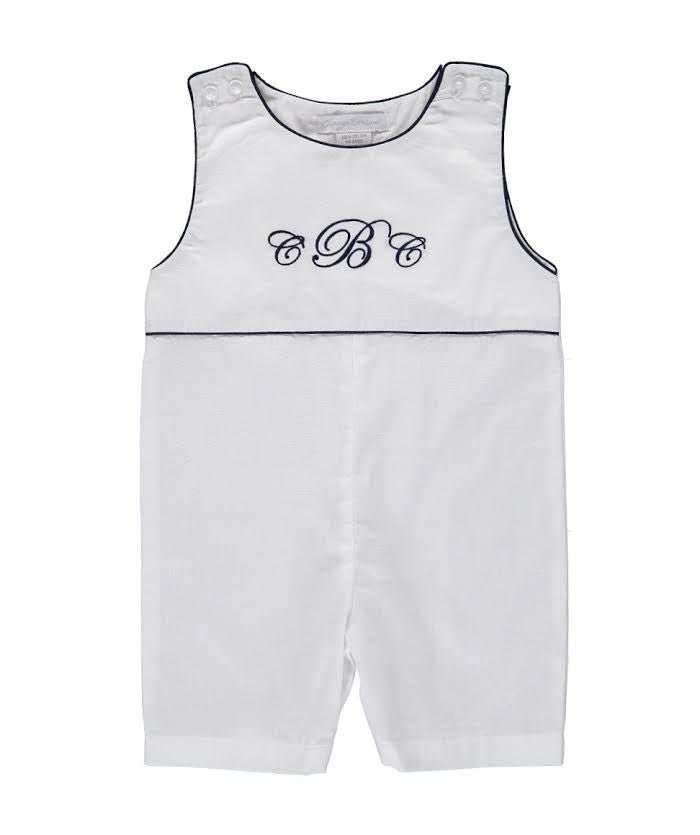 Monogram Blanks Shortall, , Carriage Boutique, Imagewear