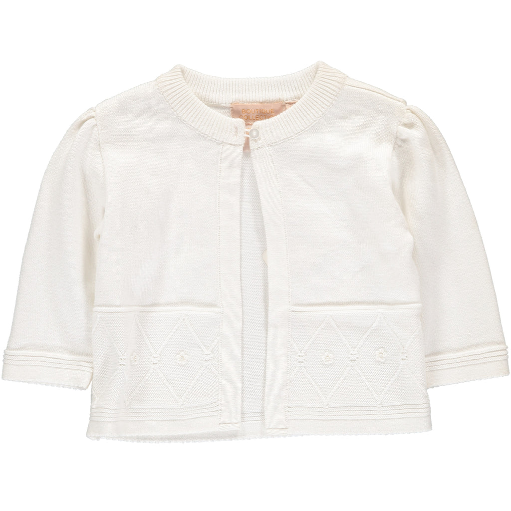 Girls Sweaters Swing White, , Carriage Boutique, Imagewear