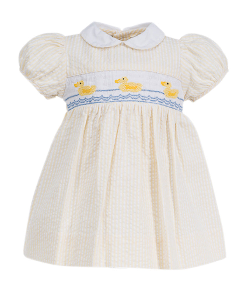 DUCKS YELLOW DRESS, , Carriage Boutique, Imagewear