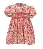 Roaring Floral Yoke Dress, , Carriage Boutique, Imagewear