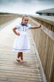 Neat Nautical Yoke Dress, , Carriage Boutique, Imagewear