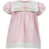Easter Shadow Bib Dress - Toddler & Youth