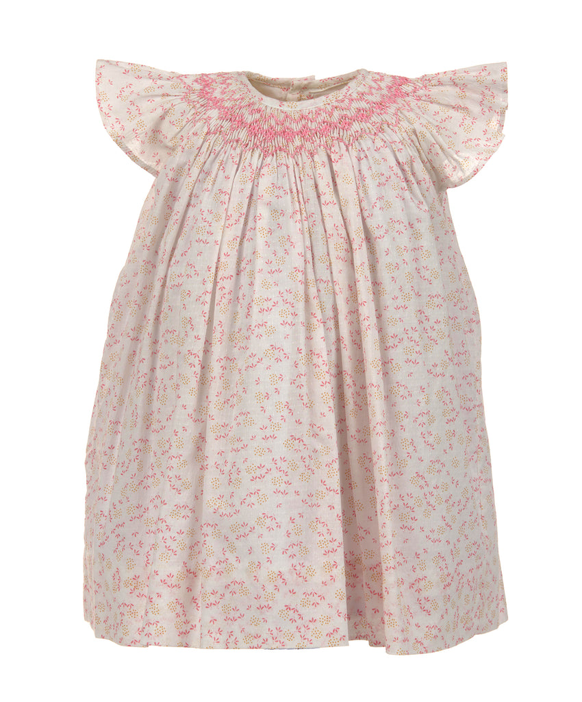 Doby Floral Bishop Dress, , Carriage Boutique, Imagewear