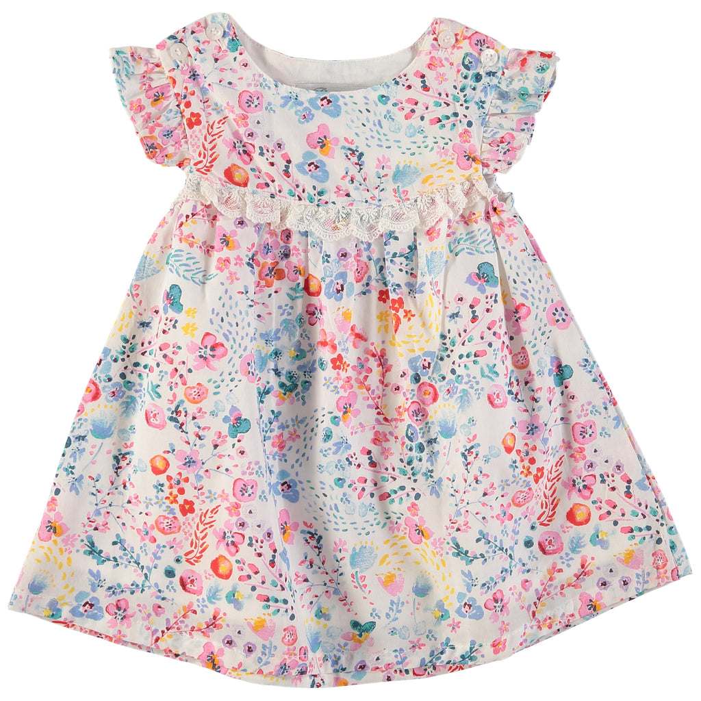 FUN FLOWERS DRESS, , Carriage Boutique, Imagewear