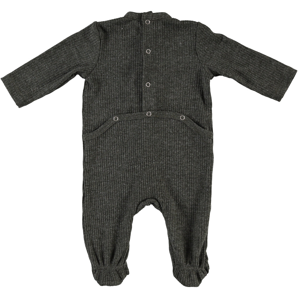 Body Fitted Baby Footsie - Army Green, , P & P, Imagewear