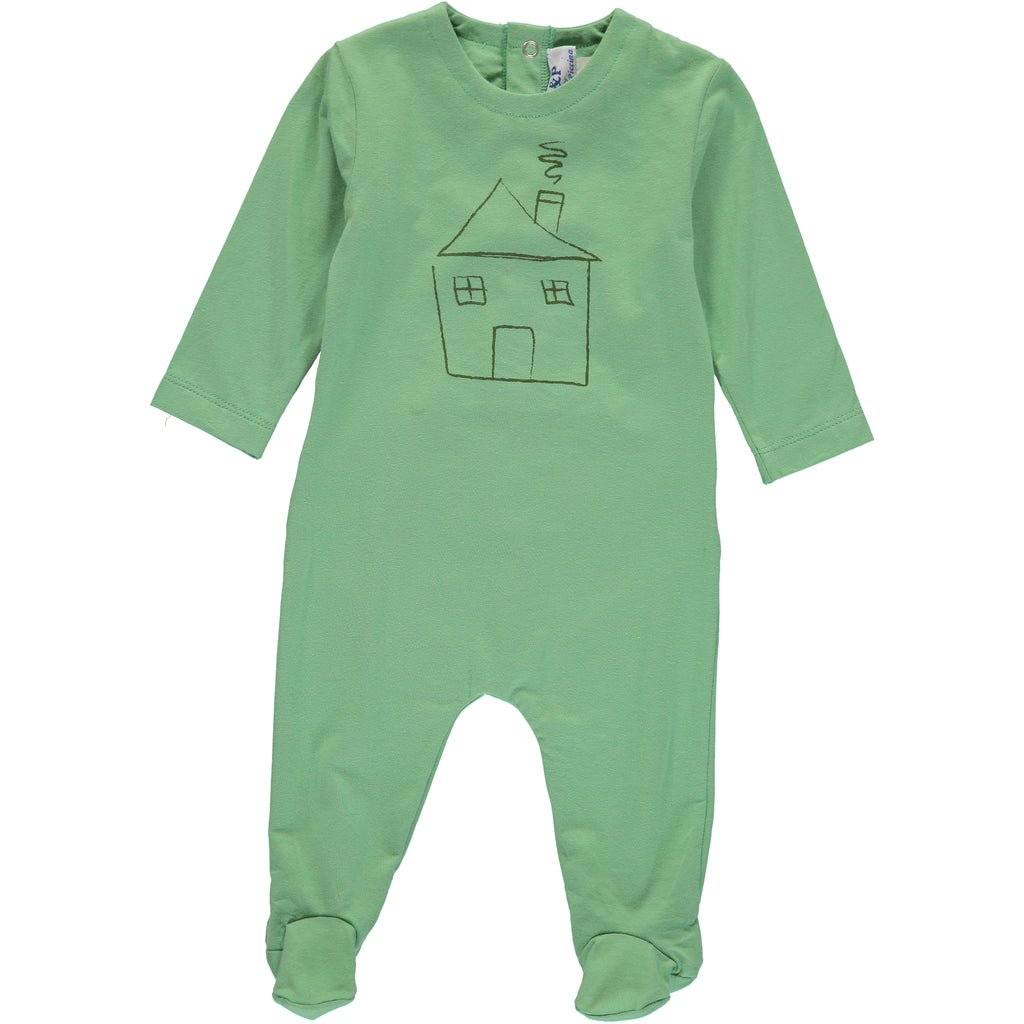 Boys Green House Footsie, , P & P, Imagewear