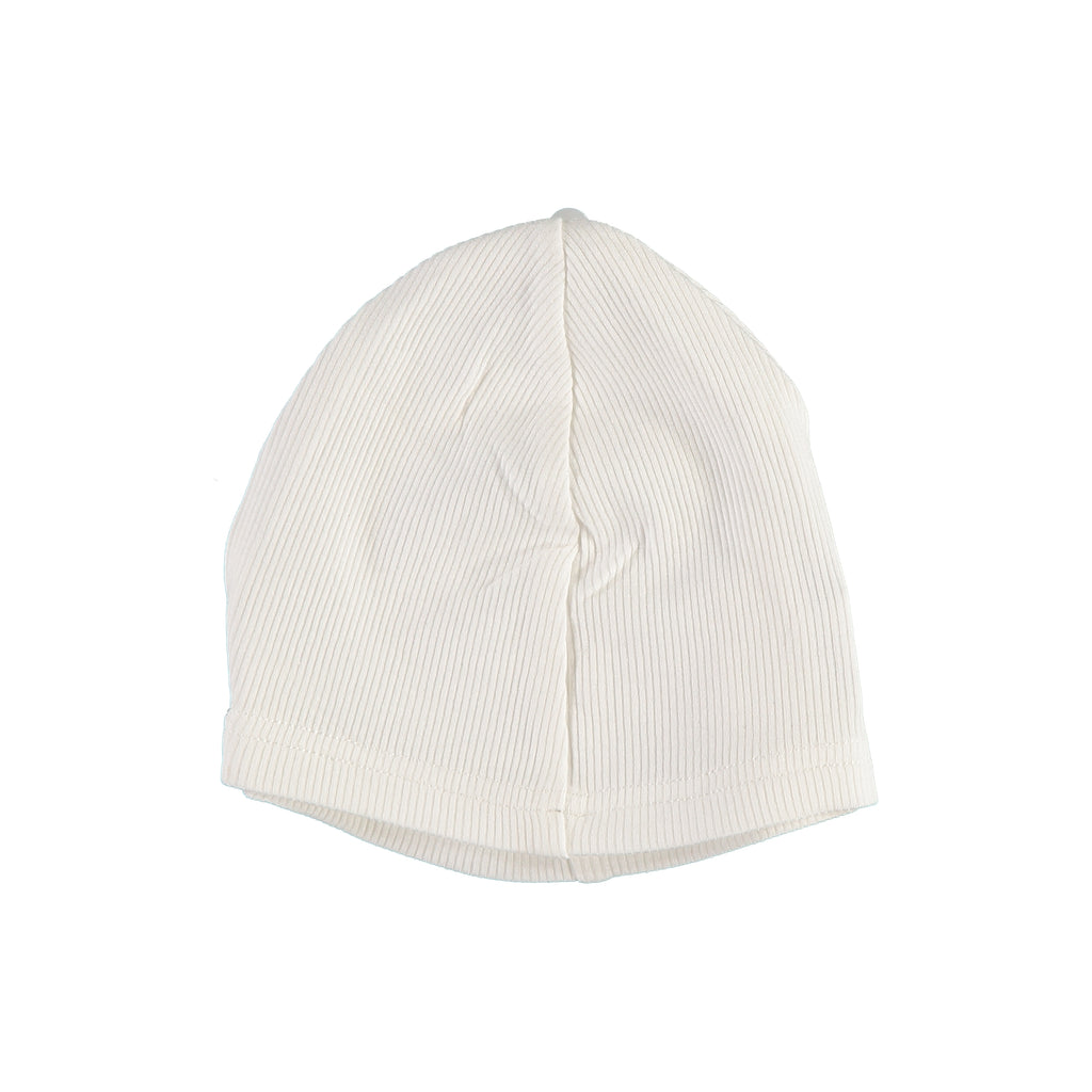 White Ribbed Hat, , PICCINO PICCINA, Imagewear