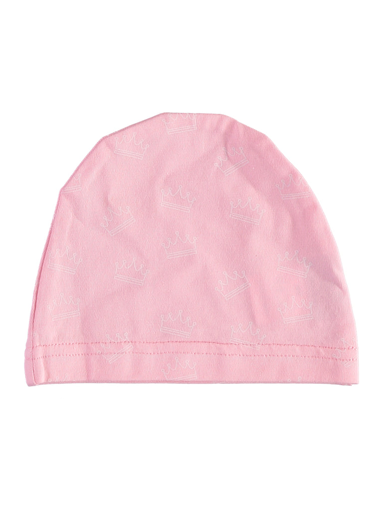 Crown Pink Footsie + Hat, , PICCINO PICCINA, Imagewear
