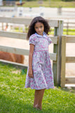 Flashy Floral Dress, , Carriage Boutique, Imagewear