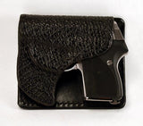 Aker Rear Pocket Black Sharkskin Holster