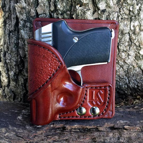 Bear Creek Front/Rear Pocket Combo Holster (Mahogany)