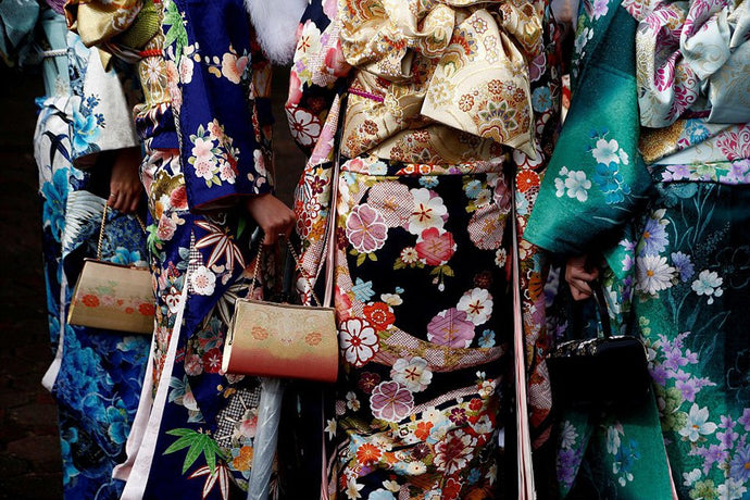 Different Types of Kimono for women