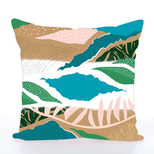 Square Toss Cushion Cover | Nature