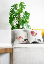 Square Toss Cushion Cover | Lotus Style B