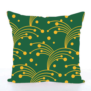 Square Toss Cushion Cover | Green
