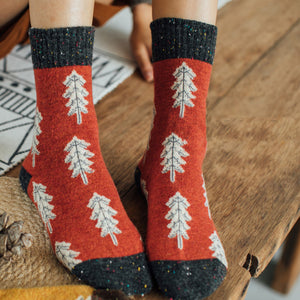 earth socks planet socks tree socks