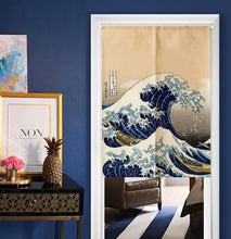 Noren | Curtain | Wall Hanging | Great Waves - novmtl