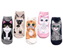 kawaii cute socks cat ankle socks