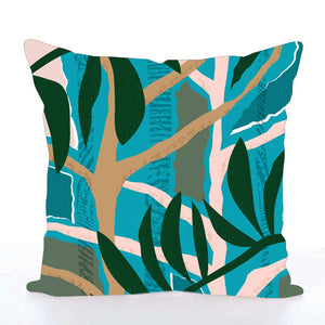 Square Toss Cushion Cover | Jungle