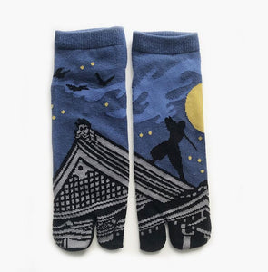 Japanese Tabi Ankle Socks | Ninja