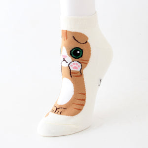 japanese cat socks