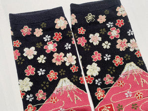 Japanese Tabi Socks | Fuji Black