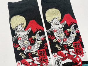 Japanese Tabi Socks | Fish - Red