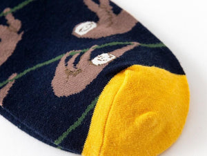 Crew Socks | Funky Socks - Sloth