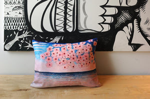 ROGER CAMOUS Toss Cushion - Ocean