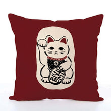 Japanese lucky cat design home decor