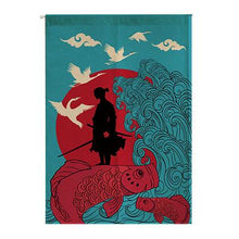 Noren | Curtain | Wall Hanging | Samurai