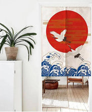 wall hanging japanese curtain