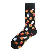Crew Socks | Funky Socks - Hamburger