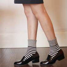 wool socks cozy and warm| cashmere wool socks stripes cozy| Boutique Local NOVMTL