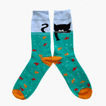 cat socks funky socks cotton socks