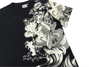 koi fish t shirt