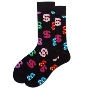Crew men's socks women's socks funky | money-cash | Boutique Local NOVMTL