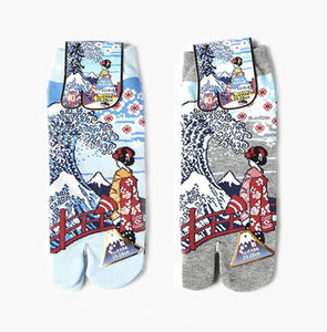 Japanese Tabi Ankle Socks | Geisha