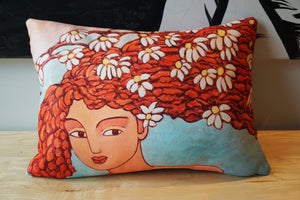 ROGER CAMOUS Toss Cushion - Blossom
