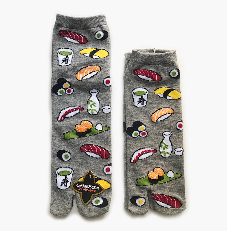 sushi socks japanese design foodie socks funky socks