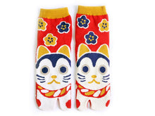 Japanese Tabi Ankle Socks | Cat