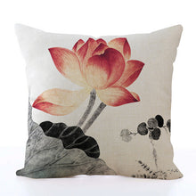 Square Toss Cushion Cover | Lotus Style F - novmtl