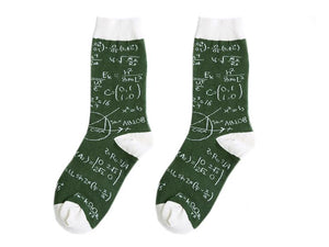 Crew Socks | Funky Socks - Math Equations