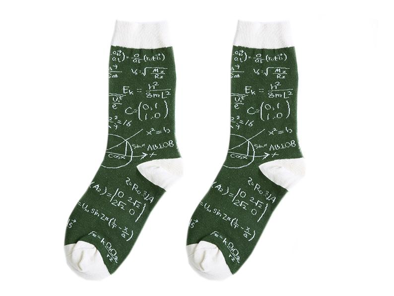 Crew Socks | Funky Socks - Math Equation