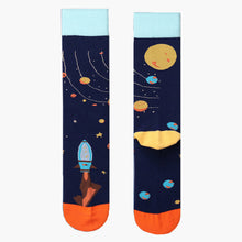Crew Socks | Funky Socks - Milky Way