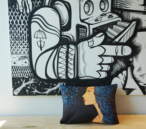 ROGER CAMOUS Toss Cushion - Night