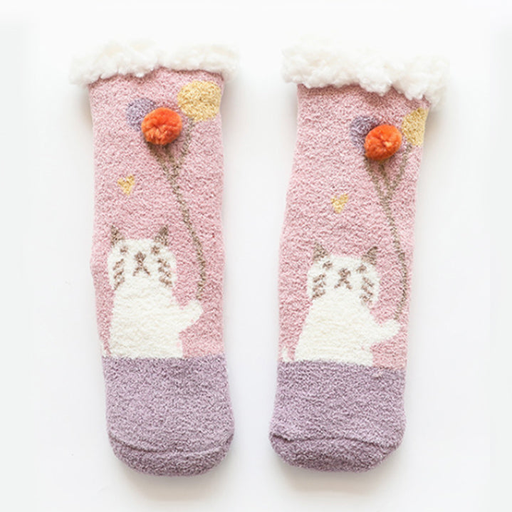 Matching Mommy and Me | Slipper Socks | Ballon