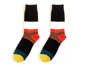 Men's & Women's | Funky Socks - Multicolor Stripes