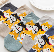 kawaii cute socks dog ankle socks cotton
